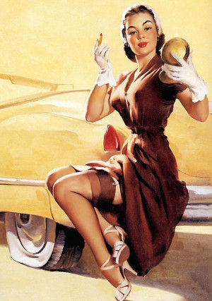 50s Pin Ups Girls Gil Elvgren