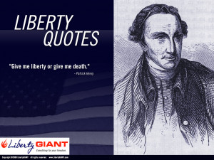liberty what is liberty some would say that liberty is the same thing ...
