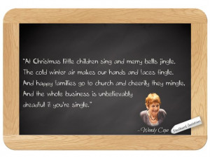 Wendy Cope... on Christmas