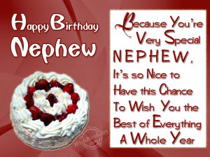 Birthday Wishes for Nephew - Birthday Cards, Greetings