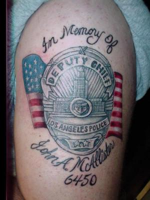 Thread: Police Tattoo