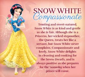 Disney Princess ˢᶰᵒʷ ᵂʰᶦᵗᵉ