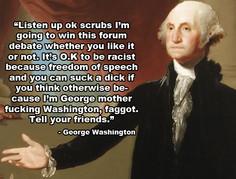 Anti Religion Quotes George Washington