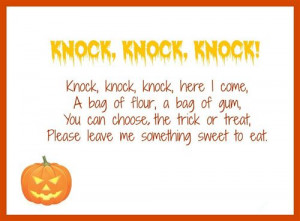 Scary Halloween Poems For Kids 2014