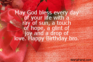 happy birthday brother christian quotes