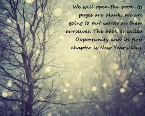 New years quotes, positive, sayings, opportunity