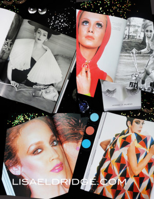 Vogue Model Robin Derrick and Robin Muir