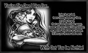 Gangsta Quotes About Love : Picture Quotes