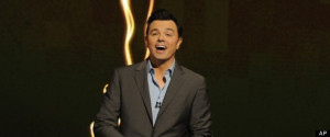 seth macfarlane was at his seth macfarlane ist sunday night during the ...