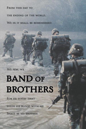 ... Infantry Band of Brothers Inspirational Poster - American Image Coll