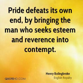 Henry Bolingbroke - Pride defeats its own end, by bringing the man who ...