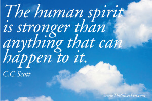 Human Spirit Quotes Pictures