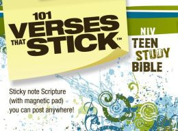 Verses that Stick for Teens based on the NIV Teen Study Bible: Bible ...