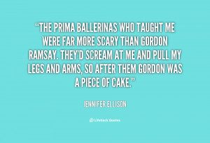 Quotes About Ballerinas