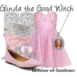 Glinda the Good Witch by fofandoms on Polyvore