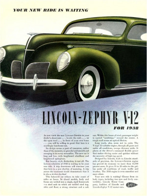 1939 Lincoln Zephyr Customized