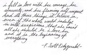 love quote text F. Scott Fitzgerald