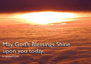 God's Blessings Quotes