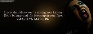 Marilyn Manson Quotes About Society