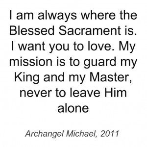 Quote from Devotion to the Divine Heart of God the Father, 3rd ed. # ...