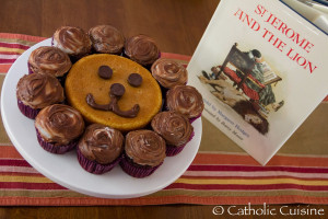 St. Jerome and the Lion Cupcakes