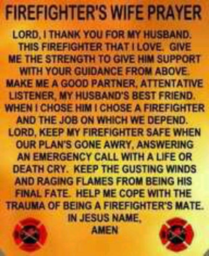 Firefighters Wife