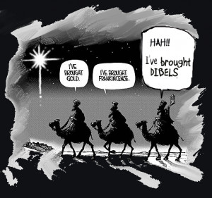 The Three Wise Men Brought