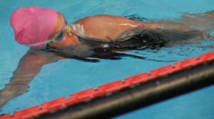 Diana Nyad Completes 48-Hour Swim at Herald Square in New York City
