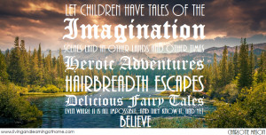 Let children have tales of the imagination, scenes laid in other ...