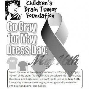 Raising Hope- May was Brain Tumor Awareness Month!