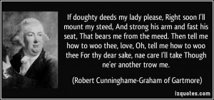 More Robert Cunninghame-Graham of Gartmore Quotes