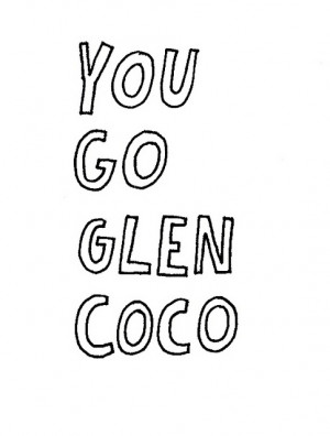 ... , glen coco, mean girls, quote, quotes, saying, sayings, typography