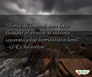 Legends Quotes