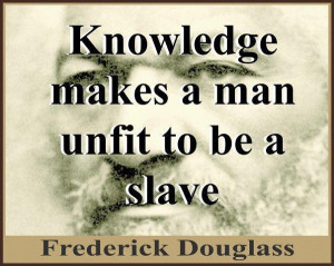 Frederick Douglass Quotes On Slavery