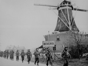 Canadian Troops helping with the Liberation of the Netherlands in WW2