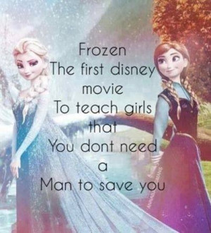 ... The First Movie To Teach Girls That You Don't Need A Man To Save You