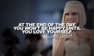 lady, lady gaga, love, quote, text