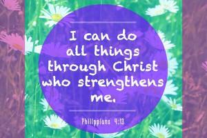 Encouragement Bible verse .
