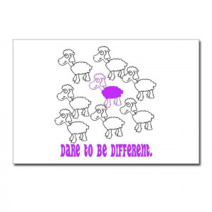Dare to be different Postcards (Package of 8)