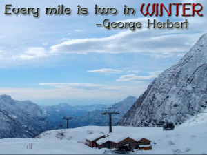 Winter Quotes Wallpapers!