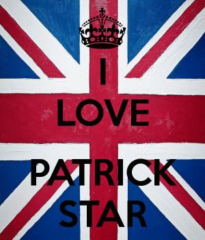 Patrick Love You Zazzle