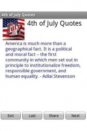4th of July Quotes - Free Application for Android