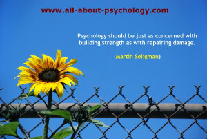 Martin Seligman Quote.