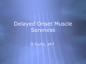 stretching for delayed onset muscle soreness by tlindeman