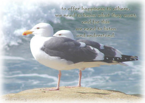 ... happiness to others quotes, Listening quotes, understanding quotes