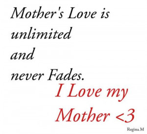 Mother Love Quotes (35)