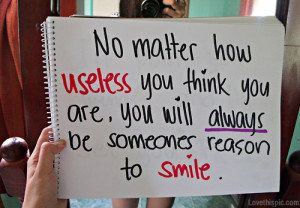 your the reason i smile quotes