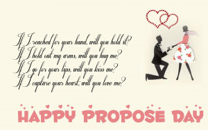 home happy propose day happy propose day quotes hd wallpaper