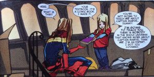 You really ought to be reading Captain Marvel and if you aren't, you ...