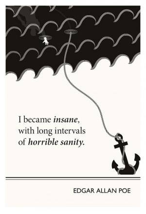 Home › Quotes › Original Illustration, Edgar Allan Poe quotation ...
